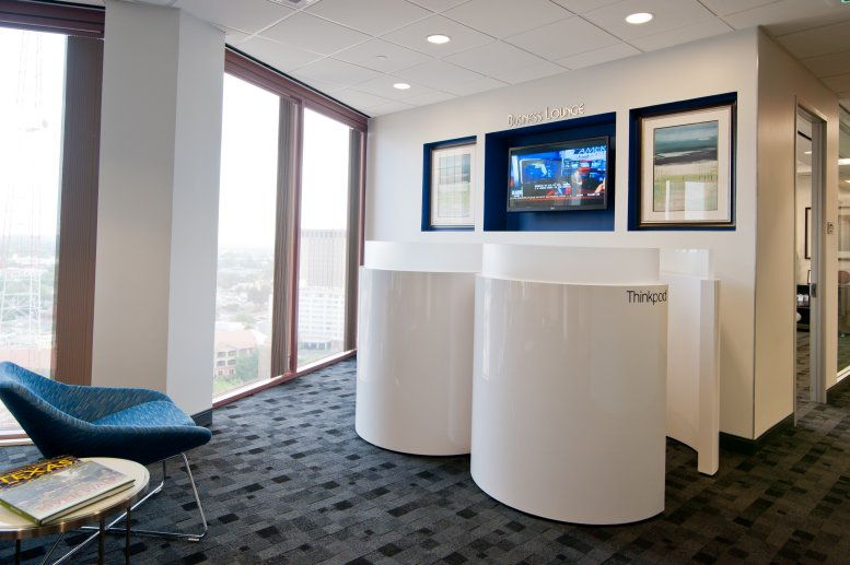 This is a photo of the office space available to rent on Bank of America Plaza, 300 Convent Street, Downtown