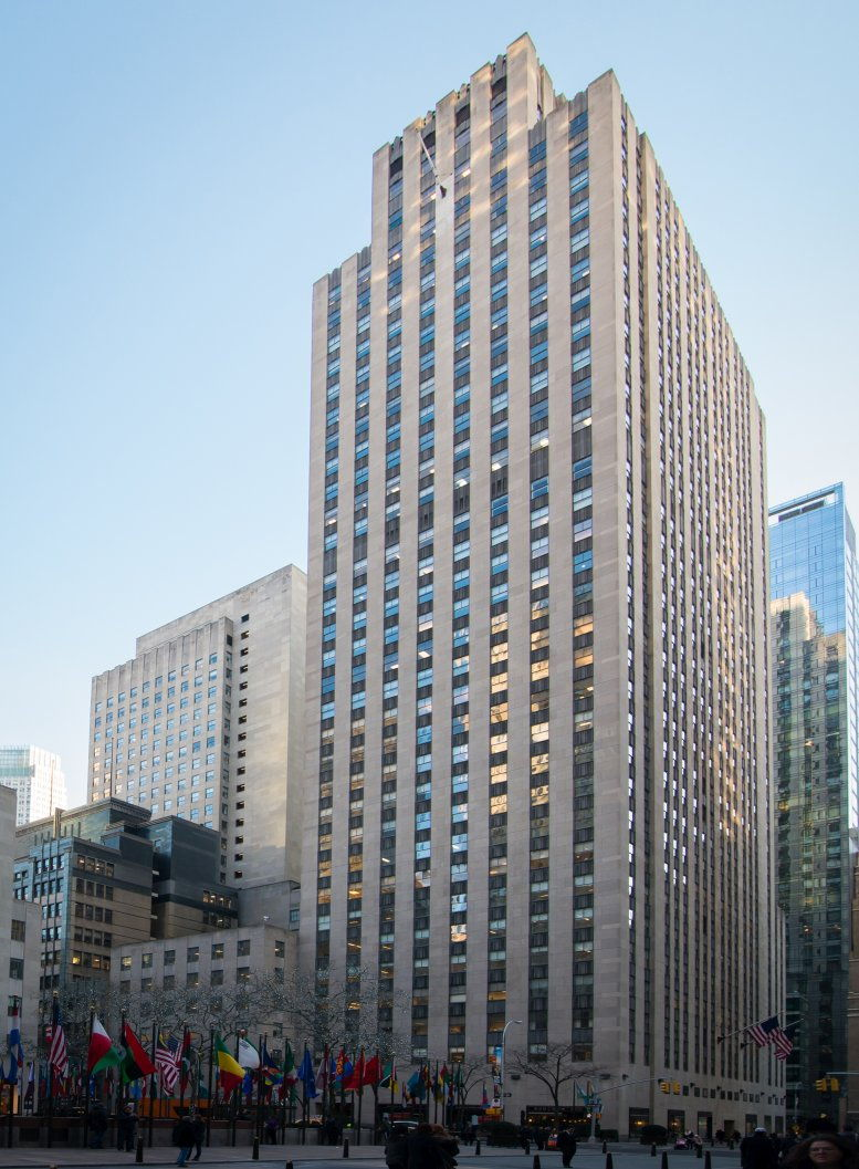 1 Rockefeller Plaza, Rockefeller Center, Midtown East, Manhattan Office Space - NYC
