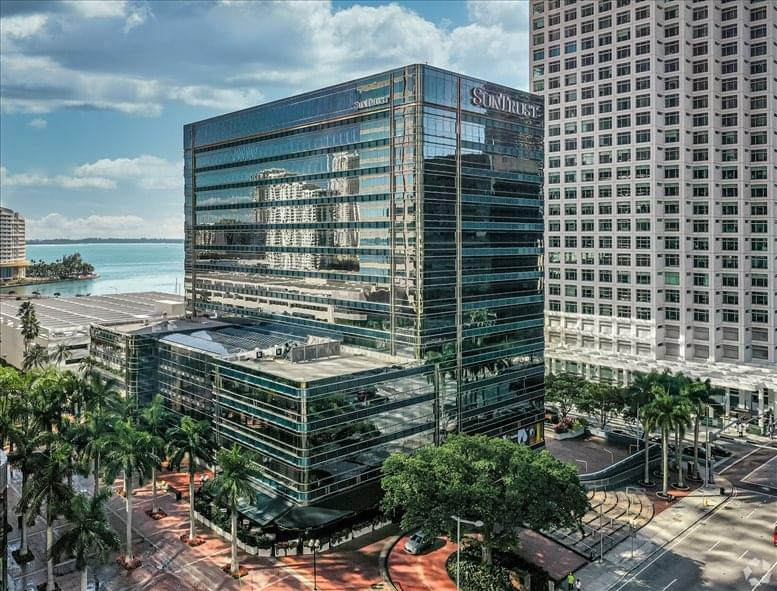 Photo of Office Space on SunTrust Building, 777 Brickell Ave, Downtown Miami Miami