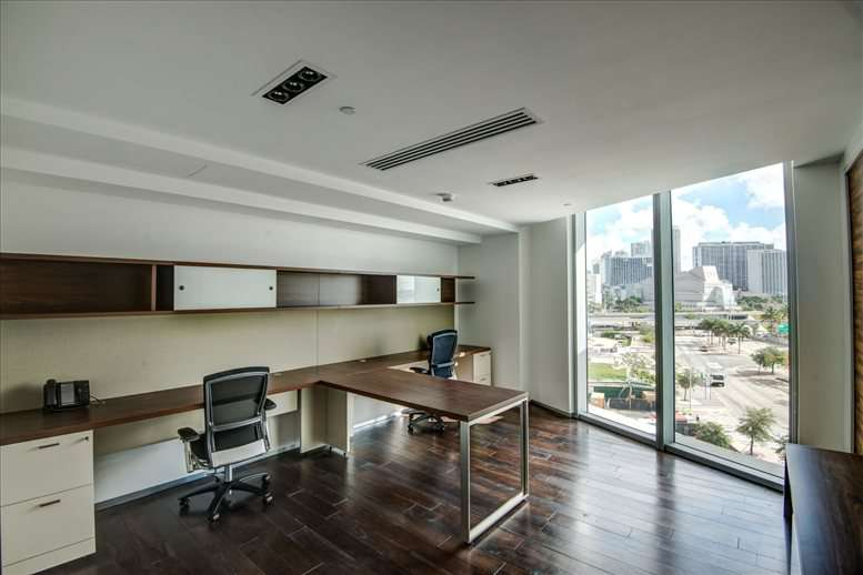 Photo of Office Space available to rent on 990 Biscayne Blvd, Miami