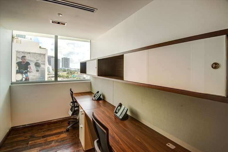 This is a photo of the office space available to rent on 990 Biscayne Blvd
