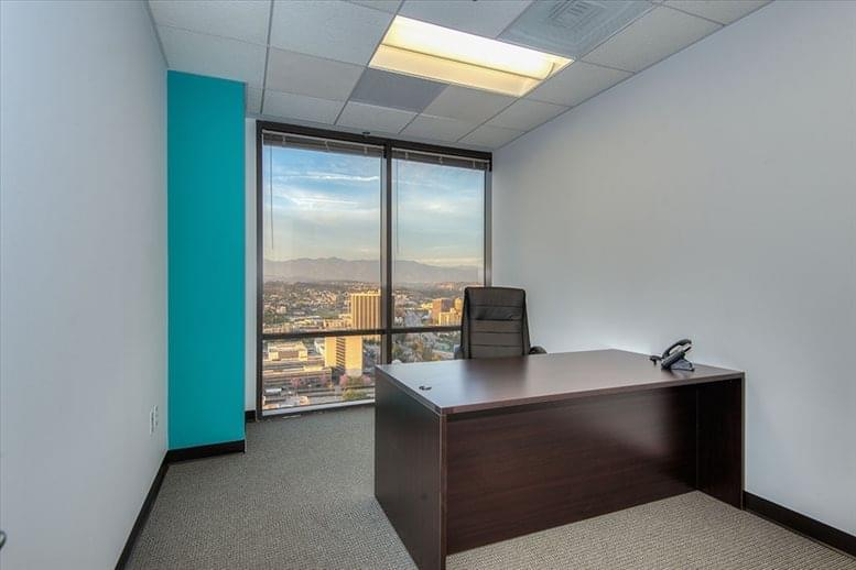 This is a photo of the office space available to rent on Arco Tower, 1055 W 7th St, 33rd Fl