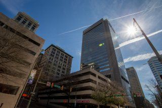 Photo of Office Space on SunTrust Plaza,919 E Main St,10th Fl, Central Office, Downtown Richmond