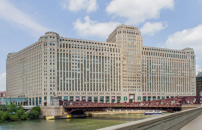The Merchandise Mart, 222 Merchandise Mart Plaza, 12th Fl, River North Office Space - Chicago