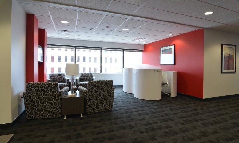 This is a photo of the office space available to rent on Bank of The West Tower, 500 Marquette Ave NE, 12th Fl