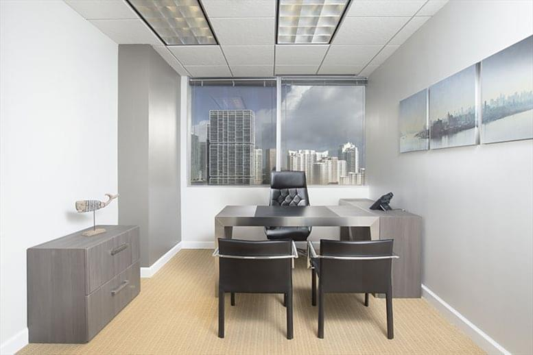This is a photo of the office space available to rent on 1001 Brickell Bay Office Tower, 1001 Brickell Bay Dr