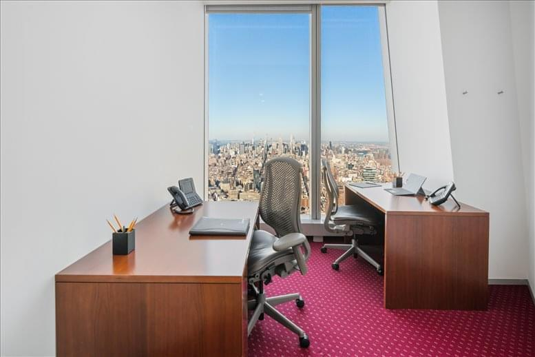 Office for Rent on One World Trade Center, 285 Fulton St, Financial District, Downtown, Manhattan NYC