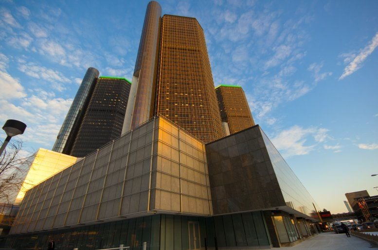 Renaissance Center available for companies in Detroit
