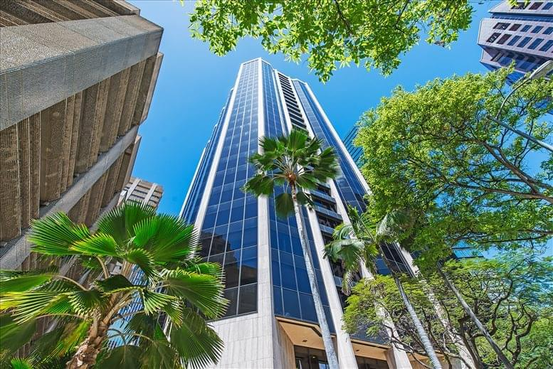 Pauahi Tower @ Bishop Square available for companies in Honolulu