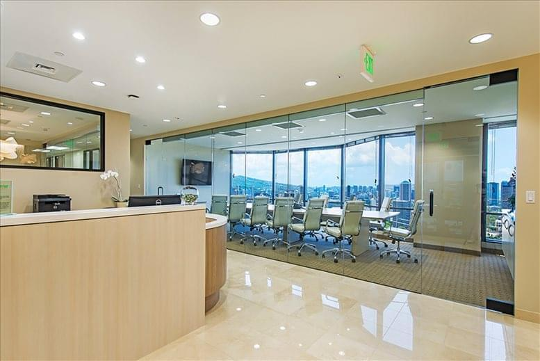 Photo of Office Space on Pauahi Tower @ Bishop Square, 1003 Bishop St, 27th Fl, Downtown Honolulu