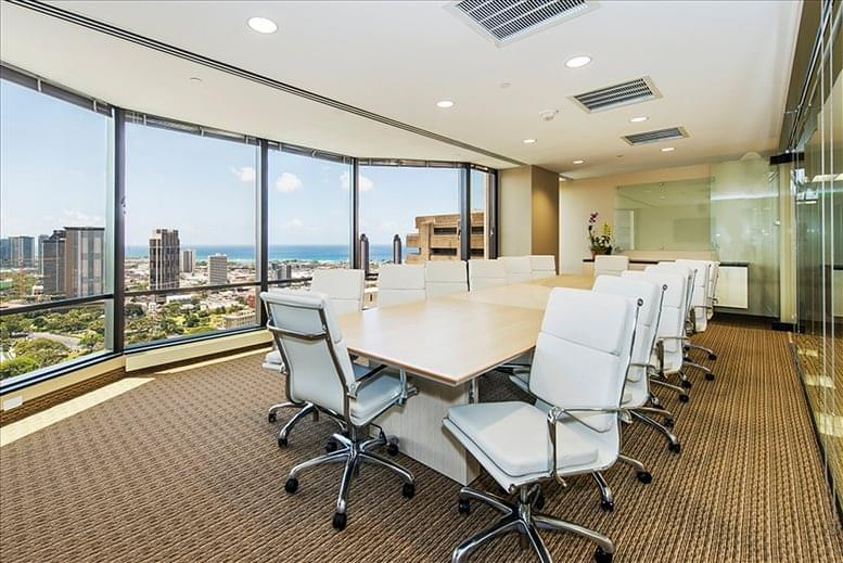 Pauahi Tower @ Bishop Square, 1003 Bishop St, 27th Fl, Downtown Office for Rent in Honolulu