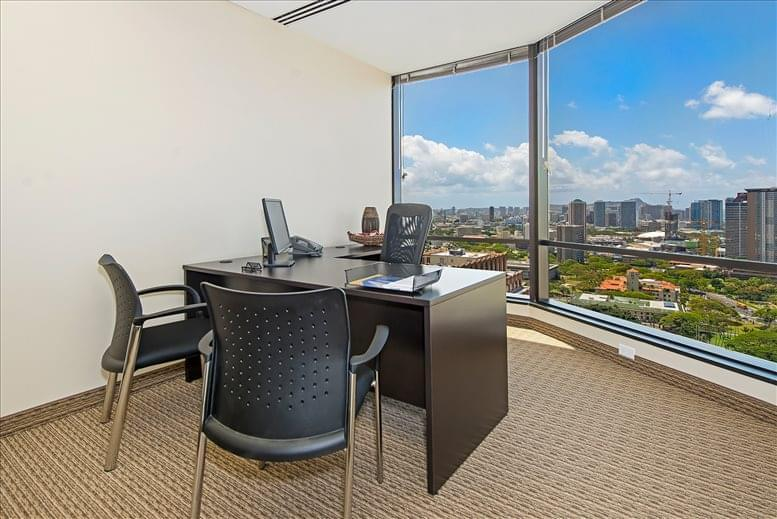 Office for Rent on Pauahi Tower @ Bishop Square, 1003 Bishop St, 27th Fl, Downtown Honolulu