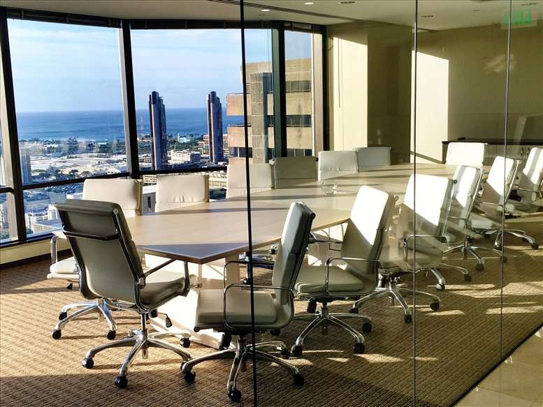 This is a photo of the office space available to rent on Pauahi Tower @ Bishop Square, 1003 Bishop St, 27th Fl, Downtown