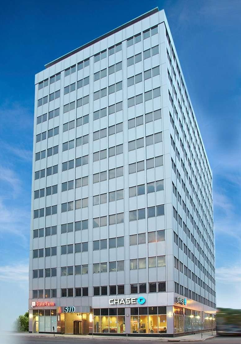 570 Broad Street, Newark Central Business District Office Space - Newark