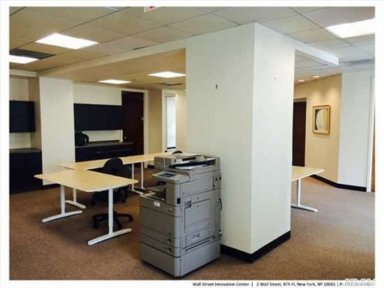 Photo of Office Space available to rent on 2 Wall St, Financial District, Downtown, Manhattan, NYC