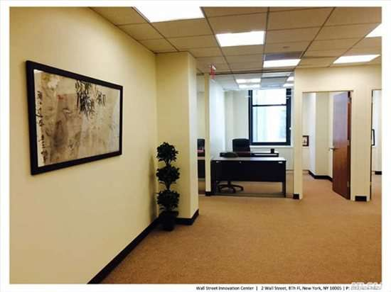 2 Wall St, Financial District, Downtown, Manhattan Office Space - NYC