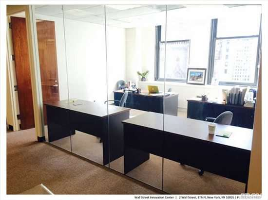 Photo of Office Space on 2 Wall St, Financial District, Downtown, Manhattan NYC