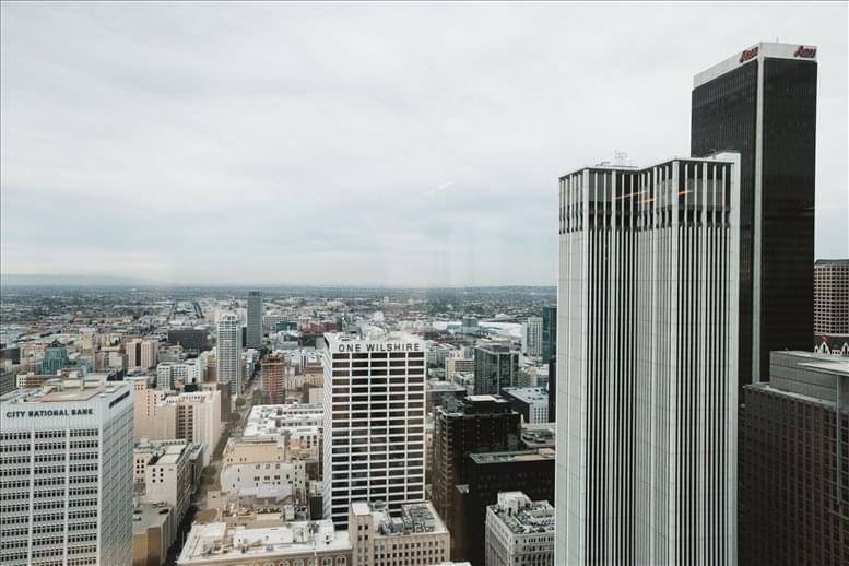 Photo of Office Space available to rent on Gas Company Tower, 555 W 5th St, 35th Fl, Los Angeles