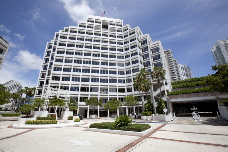 Courvoisier Centre II, 601 Brickell Key Dr, Brickell Key Office Space - Miami