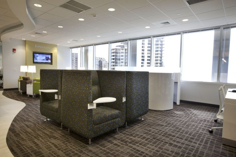 Courvoisier Centre II, 601 Brickell Key Dr, Brickell Key Office for Rent in Miami