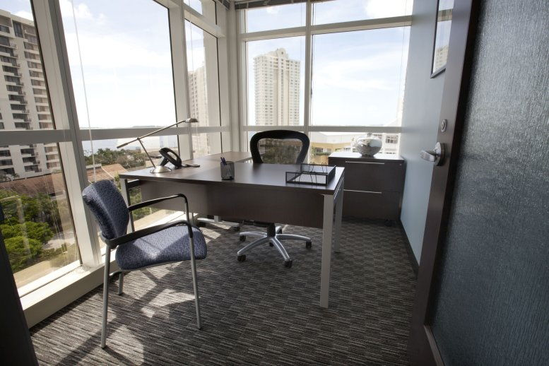 Photo of Office Space available to rent on Courvoisier Centre II, 601 Brickell Key Dr, Brickell Key, Miami