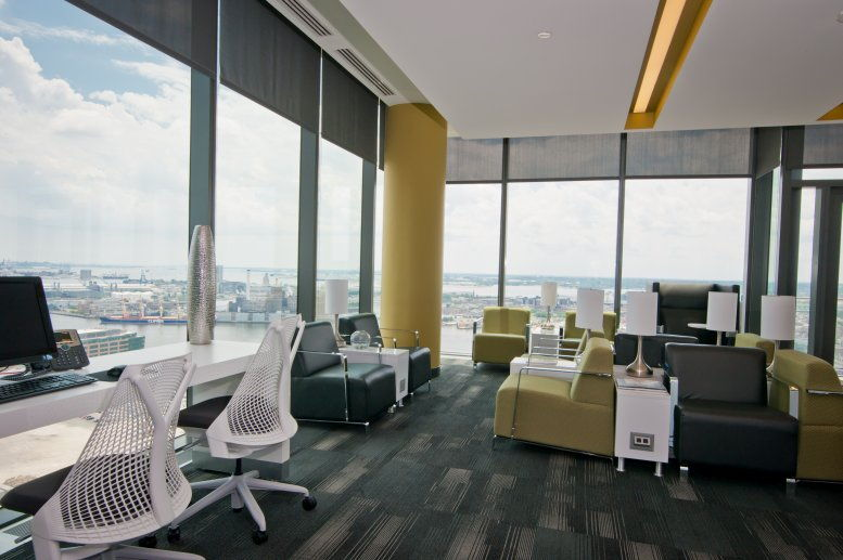 This is a photo of the office space available to rent on Legg Mason Tower, 100 International Drive
