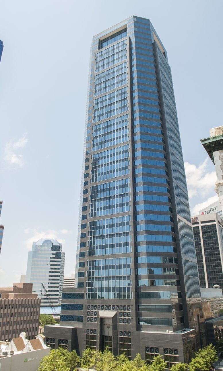 Bank of America Tower available for companies in Jacksonville