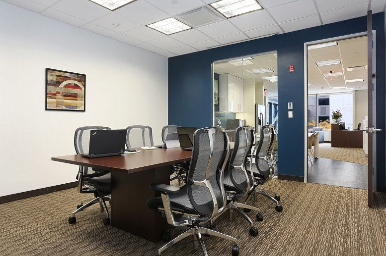 This is a photo of the office space available to rent on Trump Plaza, 175 Huguenot St