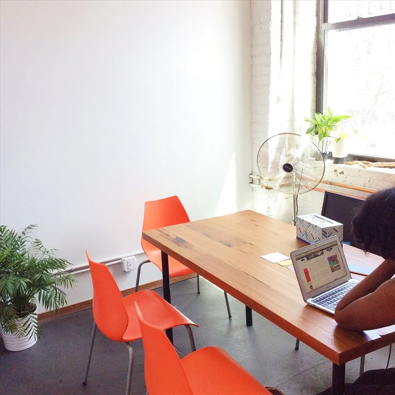 This is a photo of the office space available to rent on 1120 Washington Ave, Prospect Lefferts Gardens, Brooklyn