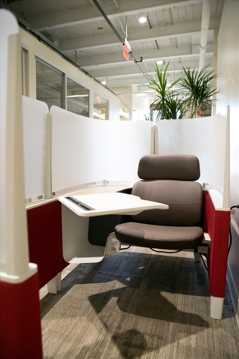 This is a photo of the office space available to rent on 700 Canal Street