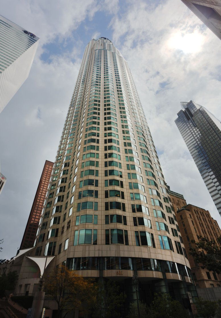 US Bank Tower available for companies in Downtown Los Angeles