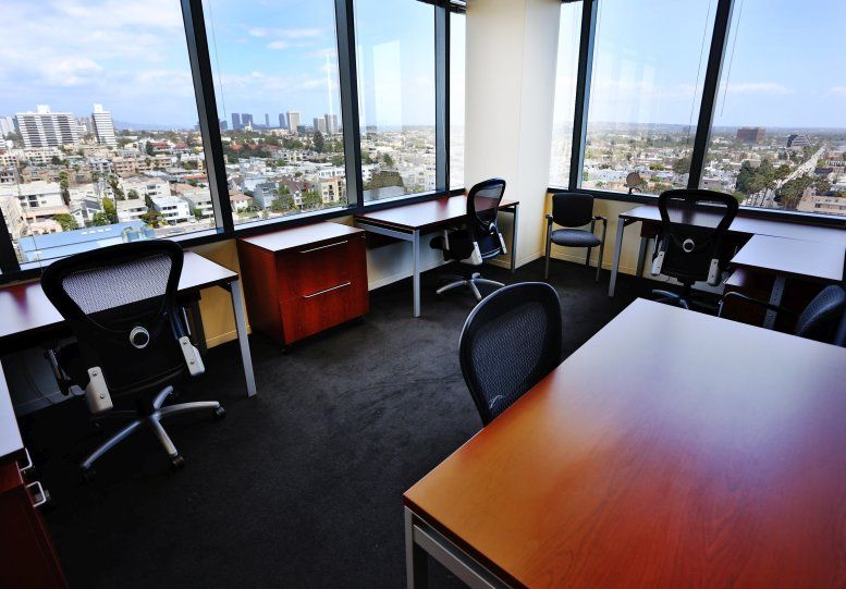This is a photo of the office space available to rent on 12100 Wilshire Blvd, 8th Fl