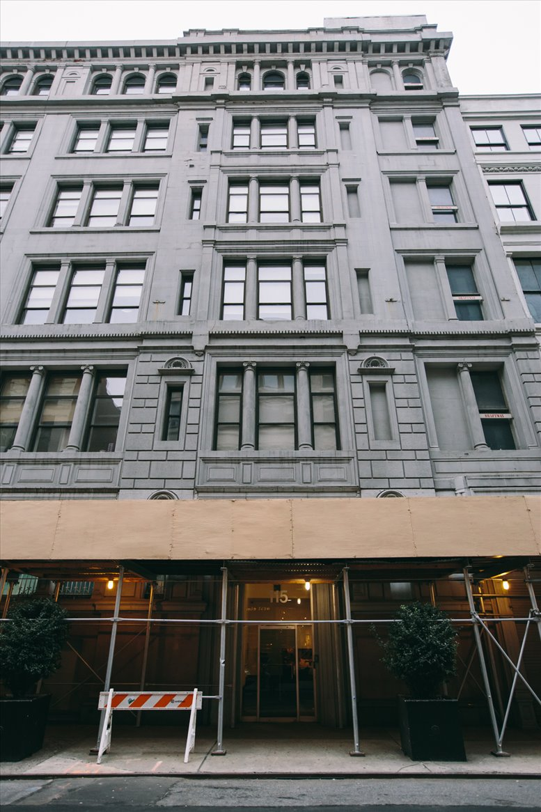 Chelsea, 115 West 18th Street, 2nd Floor Office Space - New York City