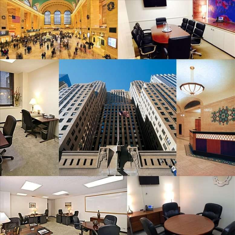 GrayBar Building, 420 Lexington Ave, Grand Central, Midtown East, Manhattan Office Images