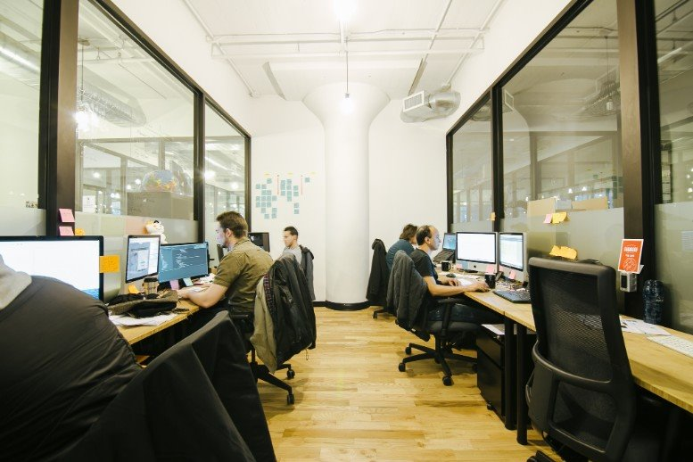 Photo of Office Space on 175 Varick St, SoHo, Manhattan NYC