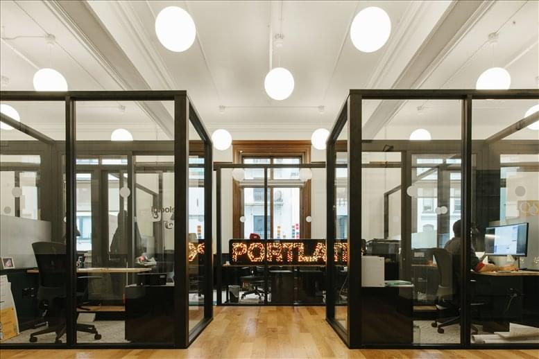 This is a photo of the office space available to rent on US Custom House, 220 NW 8th Ave, Pearl District, Downtown