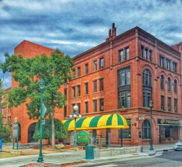 Historic Alamo Building, 128 S Tejon St, Downtown Office Space - Colorado Springs