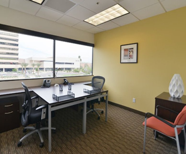 This is a photo of the office space available to rent on Camelback Square, 6991 E Camelback Rd, Downtown