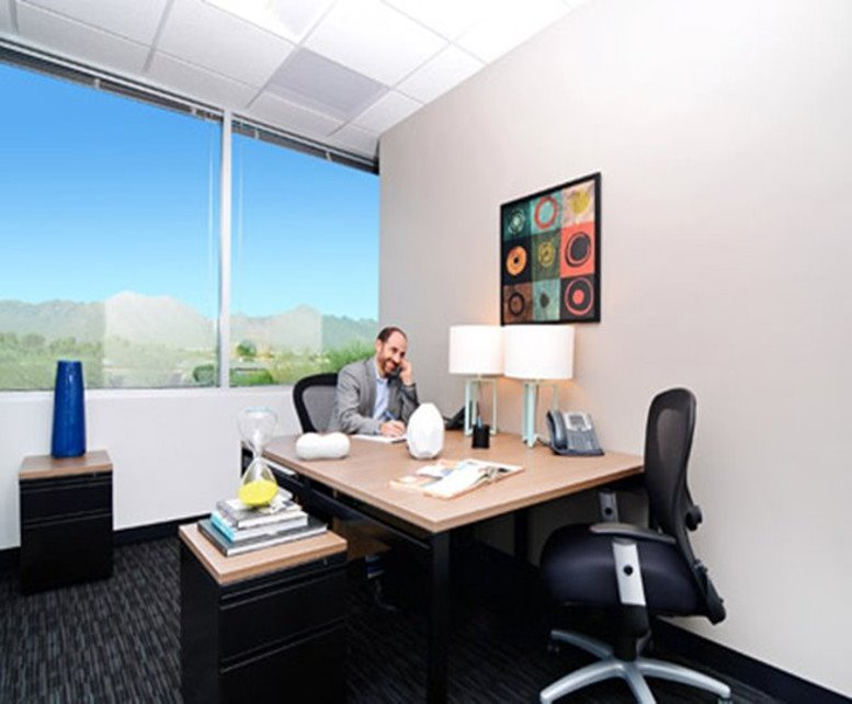 This is a photo of the office space available to rent on Raintree Corporate Center, 15333 N Pima Rd