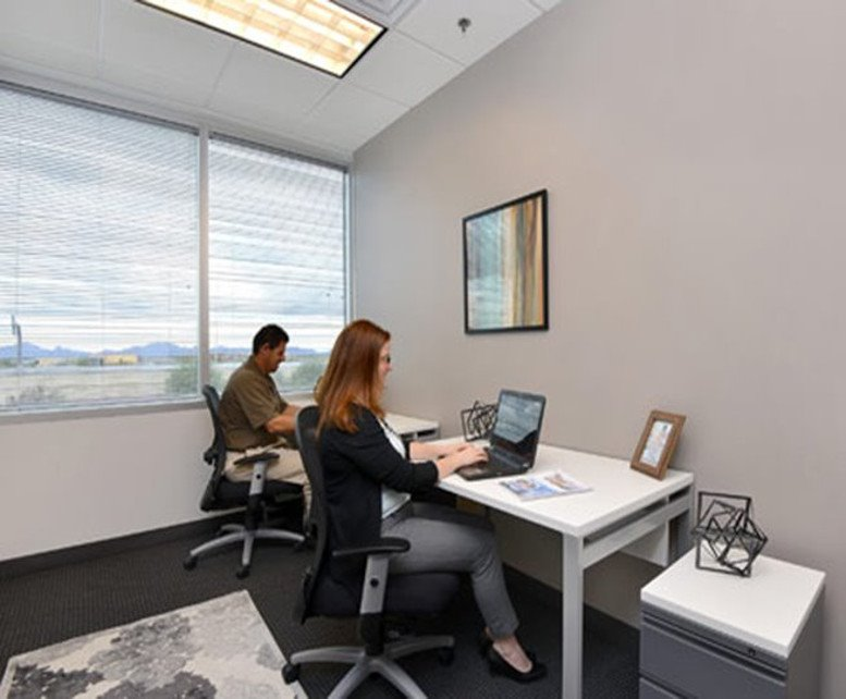 This is a photo of the office space available to rent on Desert Ridge Corporate Center, 20860 N Tatum Blvd, Desert Ridge