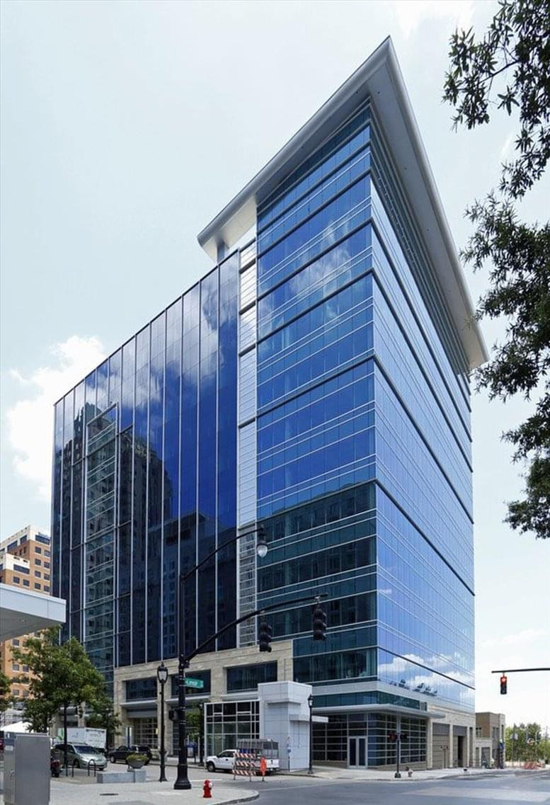 555 Fayetteville Street available for companies in Raleigh