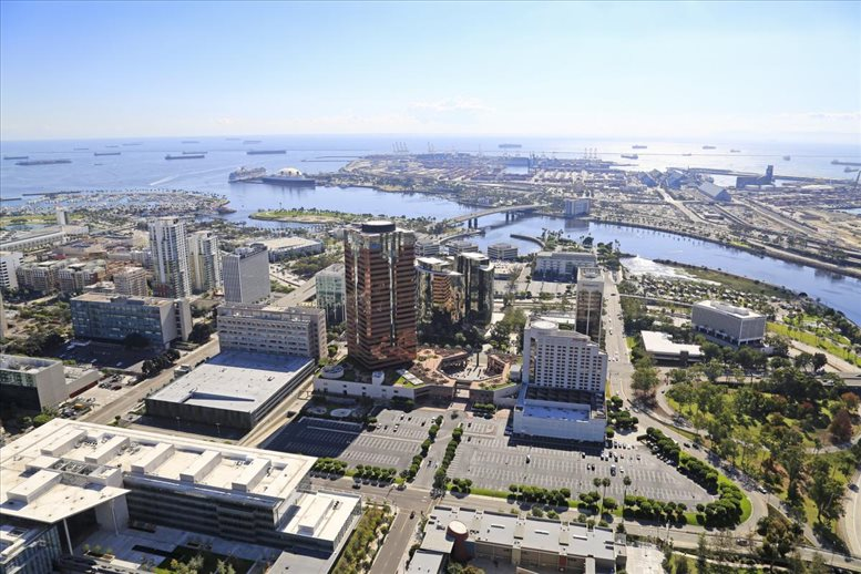 One World Trade Center, 601 W Ocean Blvd, 8th Fl, Waterfront Office for Rent in Long Beach