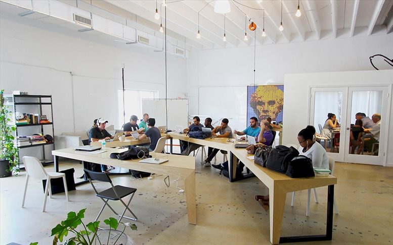 This is a photo of the office space available to rent on 400 NW 26th St, Wynwood