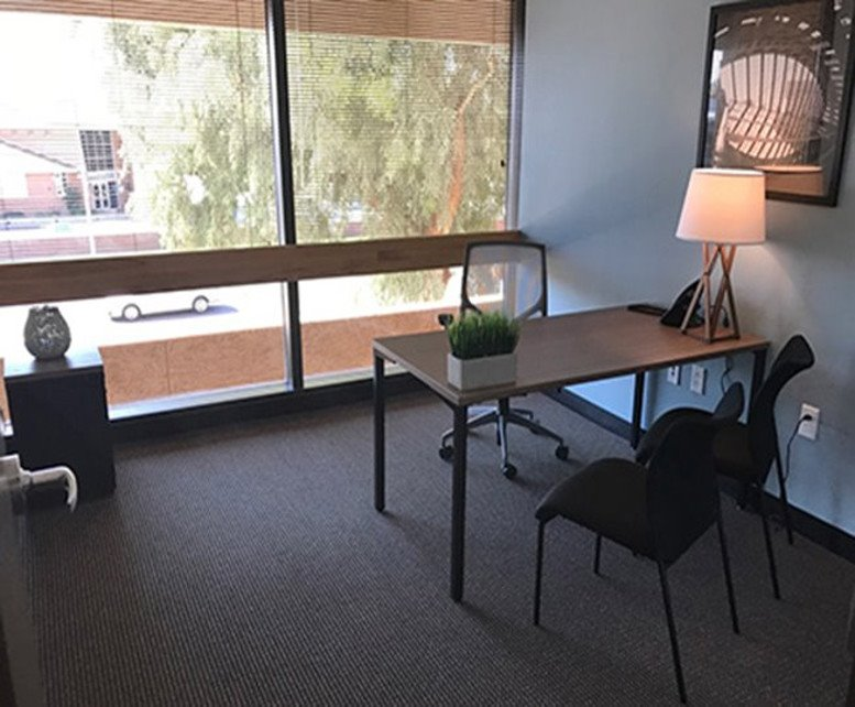 This is a photo of the office space available to rent on Wells Fargo Plaza, 64 E Broadway Rd