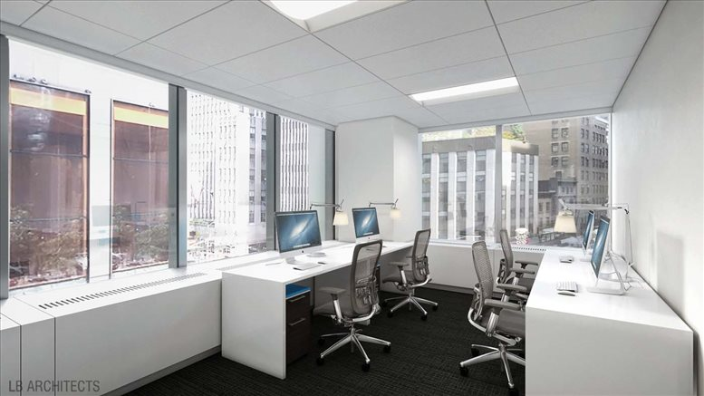 Photo of Office Space on 1185 Avenue of The Americas, 1185 6th Ave, Midtown, Manhattan NYC