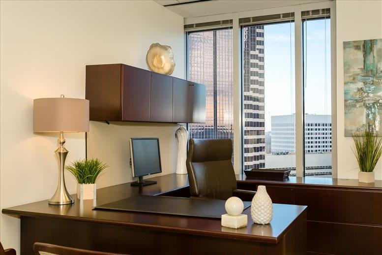 This is a photo of the office space available to rent on One Atlantic Center, 1201 West Peachtree, 23rd Fl