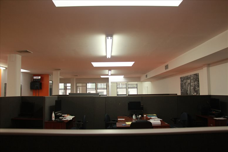 This is a photo of the office space available to rent on 838 6th Ave, NoMad, Manhattan