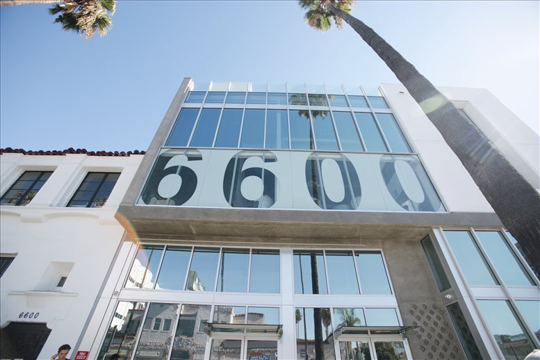 6600 Sunset Blvd Office for Rent in Hollywood