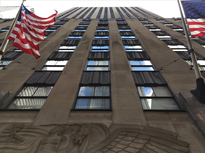 Office for Rent on 1270 6th Ave, Rockefeller Center, Midtown, Manhattan NYC
