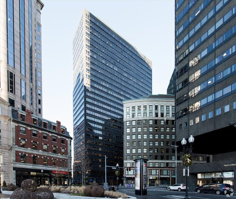 Rent Private & Shared Office Space Boston @ 100 Summer St